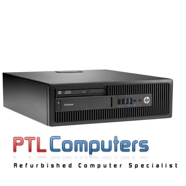 HP EliteDesk 800 G2 SFF Core i5 8G Brand New 240SSD Windows 10 Professional  WIFI