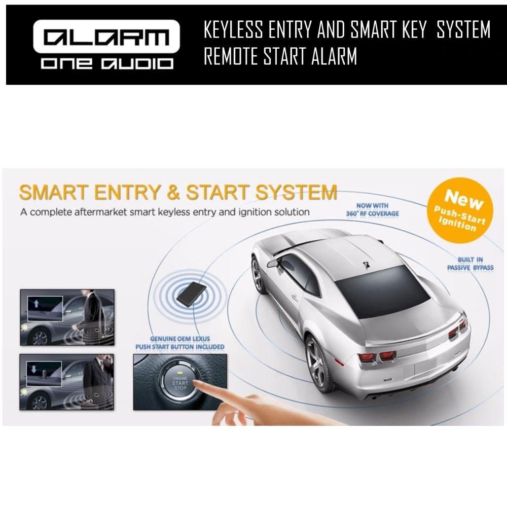 Keyless Entry And Smart Key Remote Engine Start Alarm System Remot Motor Click To Enlarge Photo