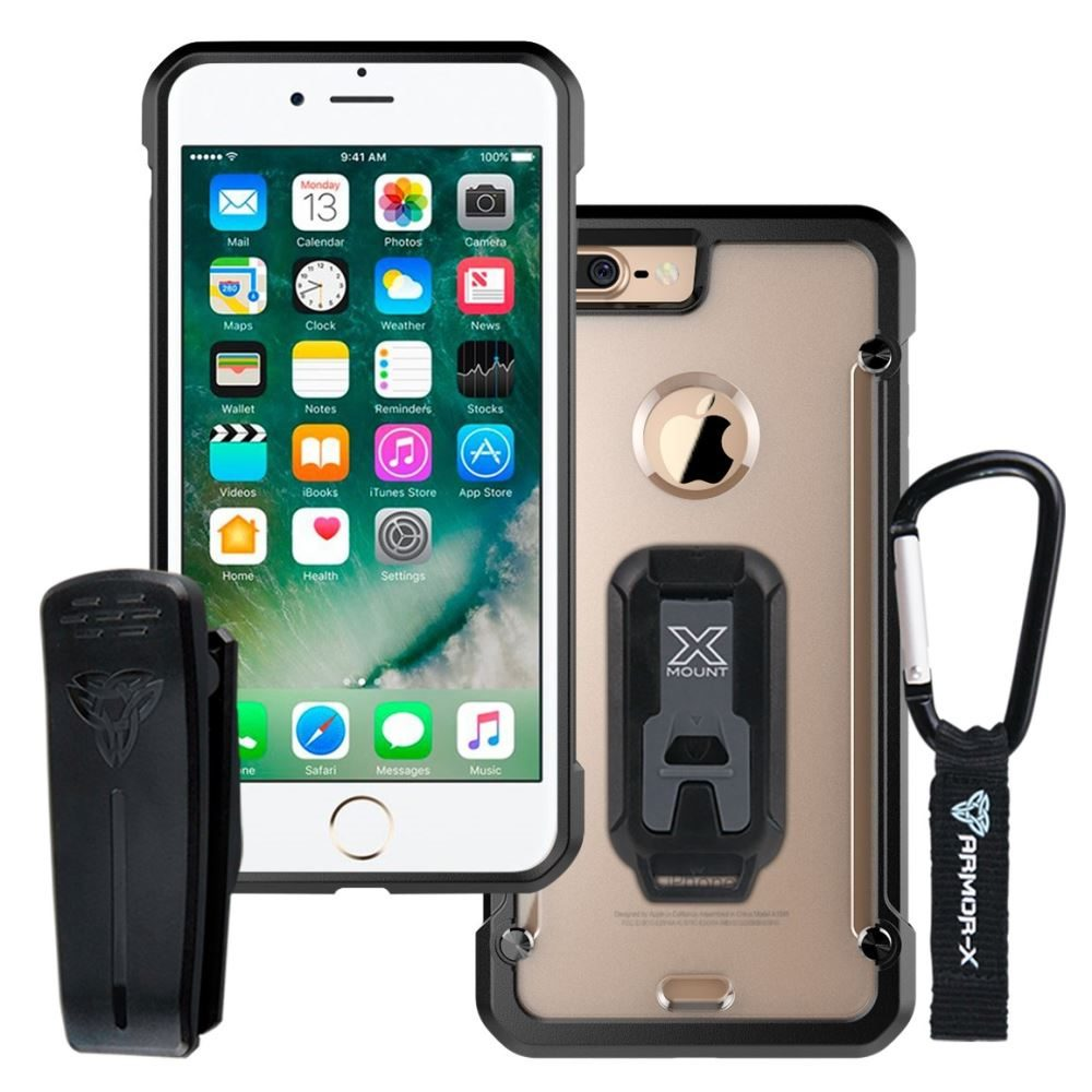 discount sale bc90b 633fb ARMOR-X IPHONE 8 | SHOCKPROOF RUGGED CASE + CARABINER