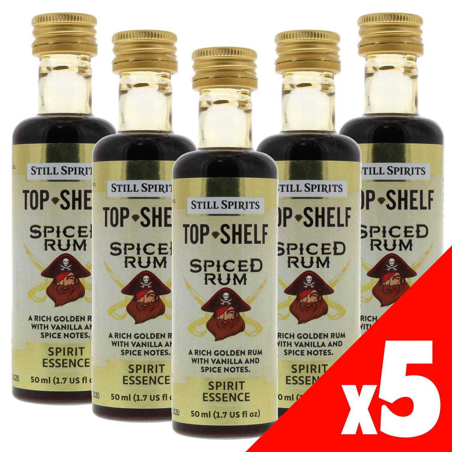 Top Rums 2020.Still Spirits Top Shelf Spiced Rum Essence X5 50ml Spirit Making Home Brew