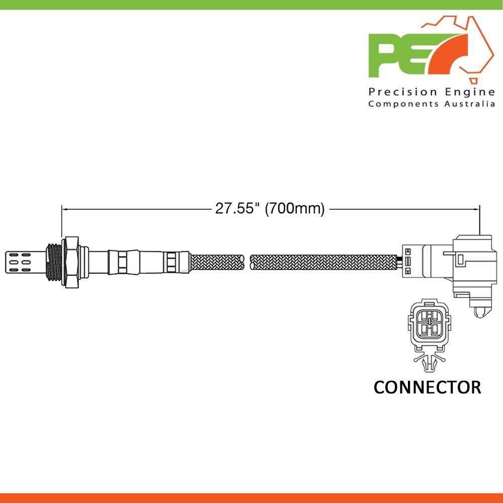 Oem Oxygen Sensor O2 To Fit Kia Mentor Shuma Fb 15l Dohc B5 E Schematic Click Enlarge Photo