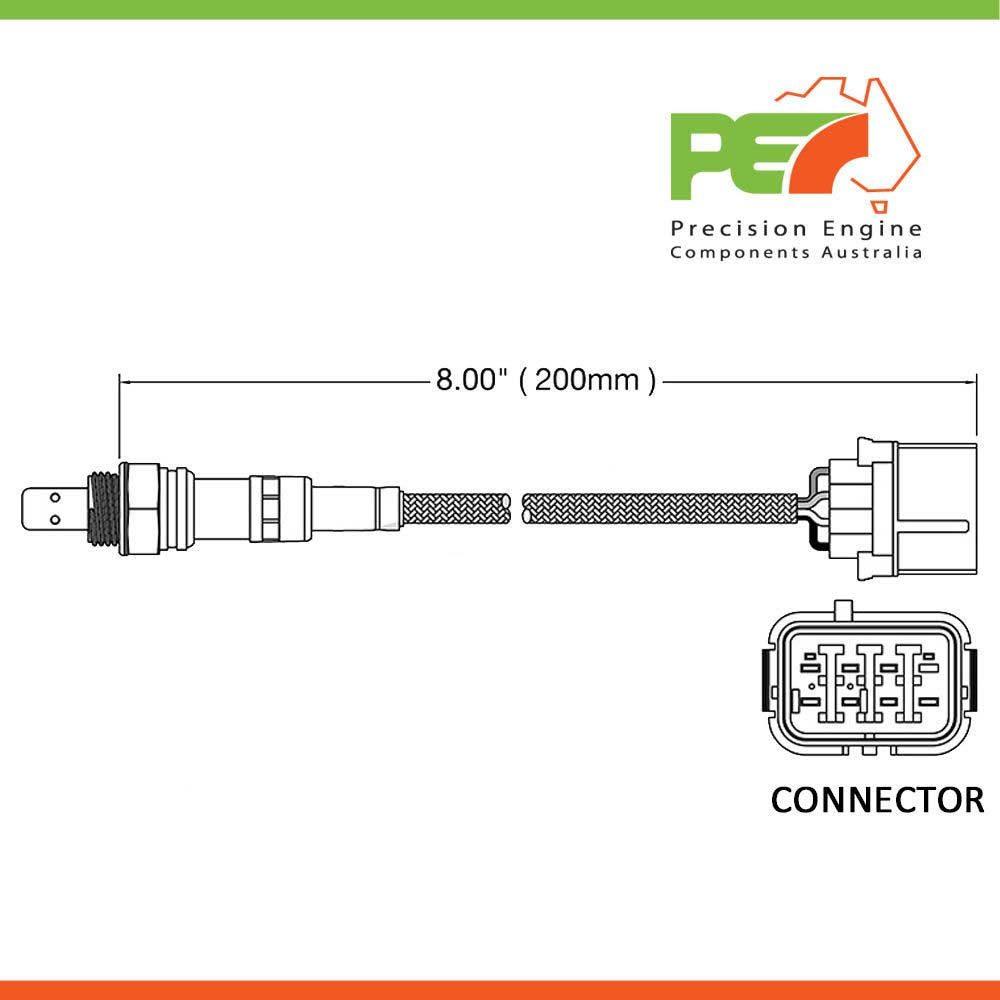 New Oem Oxygen Sensor O2 To Fit Suzuki Grand Vitara Jb627 27l Schematic Click Enlarge Photo
