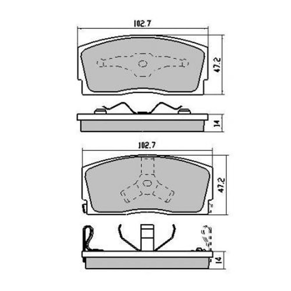 Daihatsu Brake Diagram