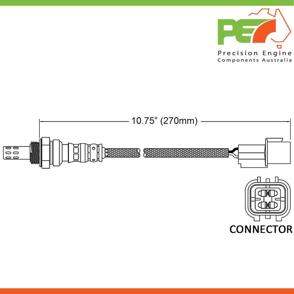 New Oem Oxygen Sensor O2 To Fit Hyundai Sonata Tiburon Trajet Wiring Diagram Click Enlarge Photo