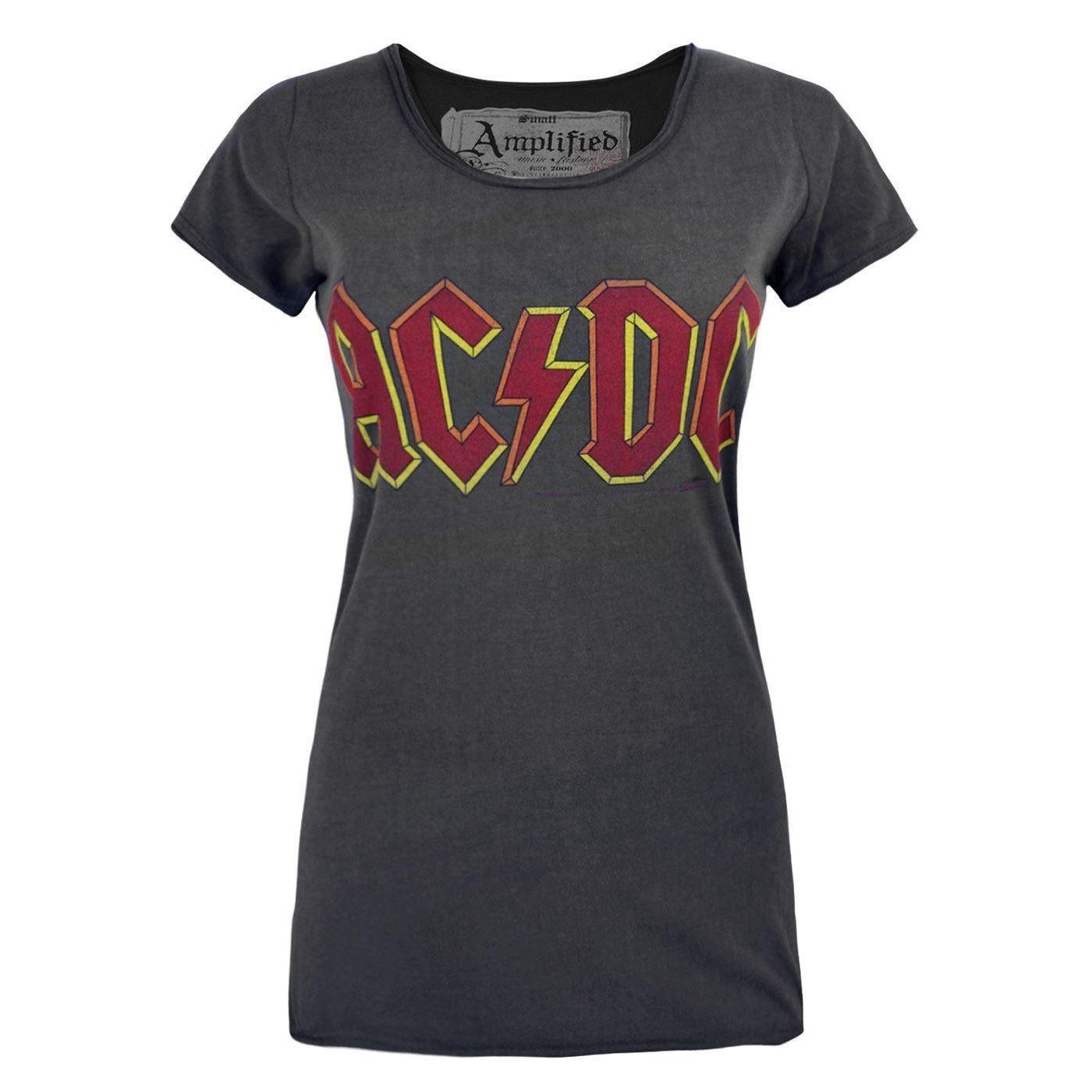 Amplified AC//DC Logo Women/'s T-Shirt