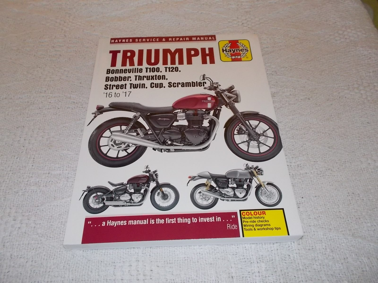 Triumph Bonneville T100 T120 Bobber Thruxton Street Twin Cup Wiring Diagram Click To Enlarge Photo