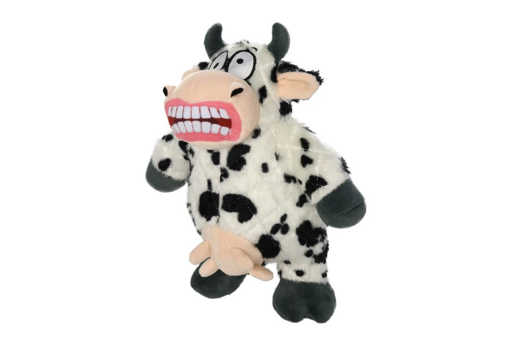 Dog Toy - Tuffy Mighty - Angry Animals Mad Cow 28cm