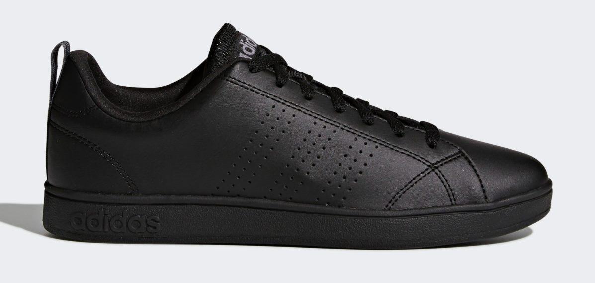 Adidas Men's Advantage Clean Vs Lifestyle Shoes Size US 12 Black BRAND NEW!!!