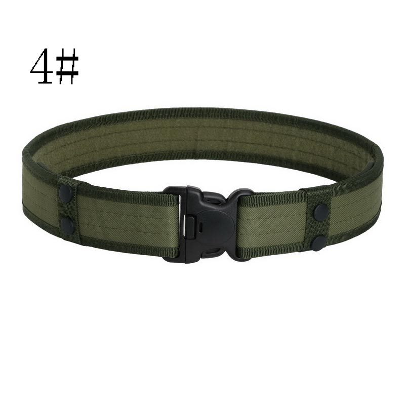 Men Tactical Belts Militray Oxford Army Outdoor Hunting SWAT Combat Waist  Belt