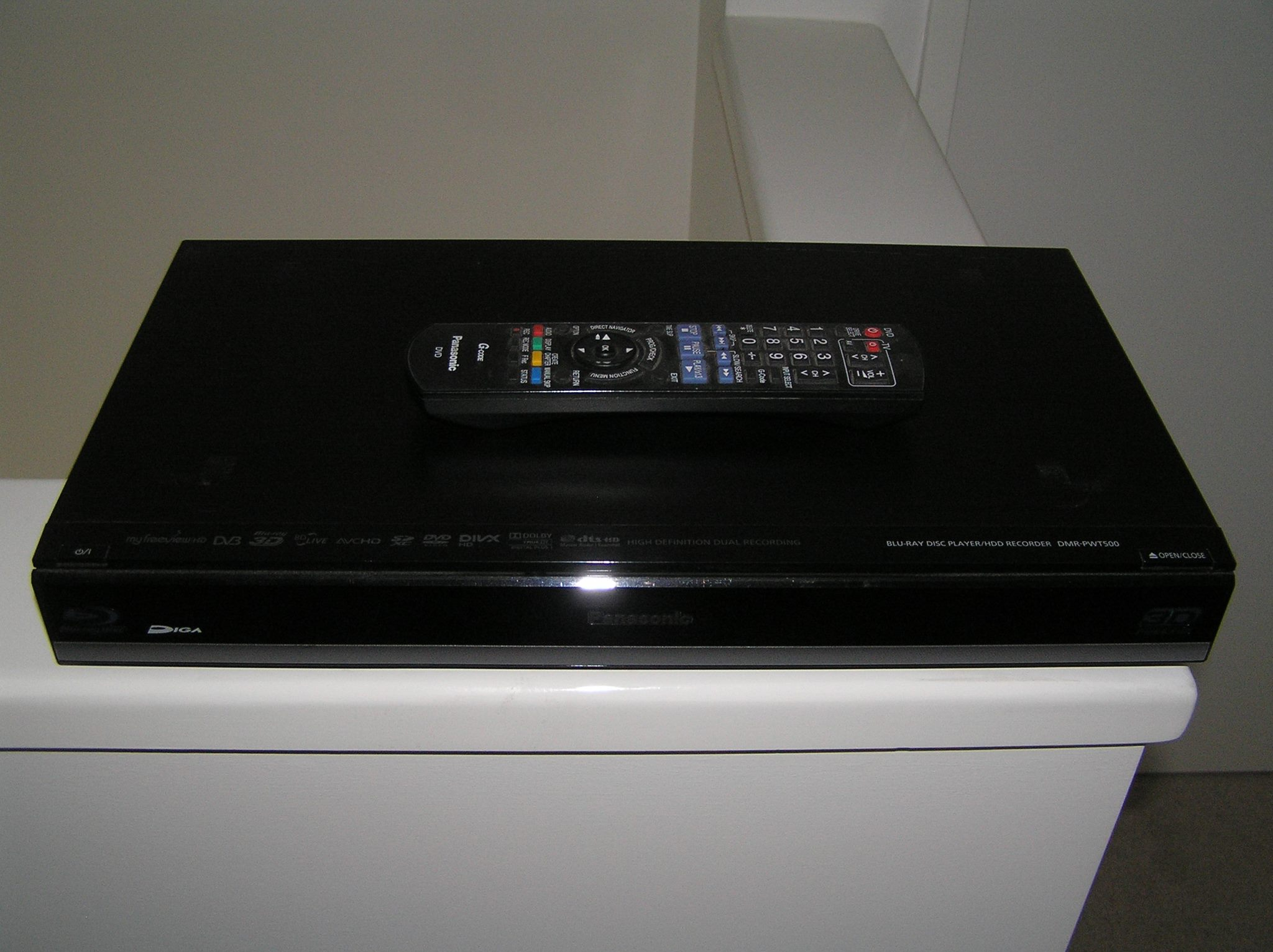PANASONIC BLUERAY FREEVIEW RECORDER (TERRESTRIAL) | Trade Me