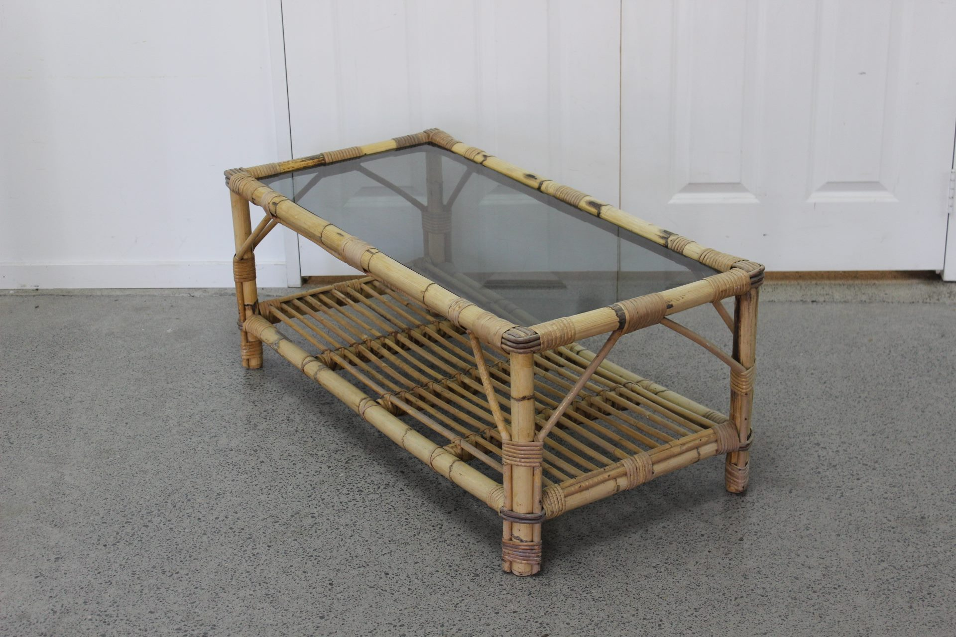 Picture of: 1980 S Cane Coffee Table Trade Me