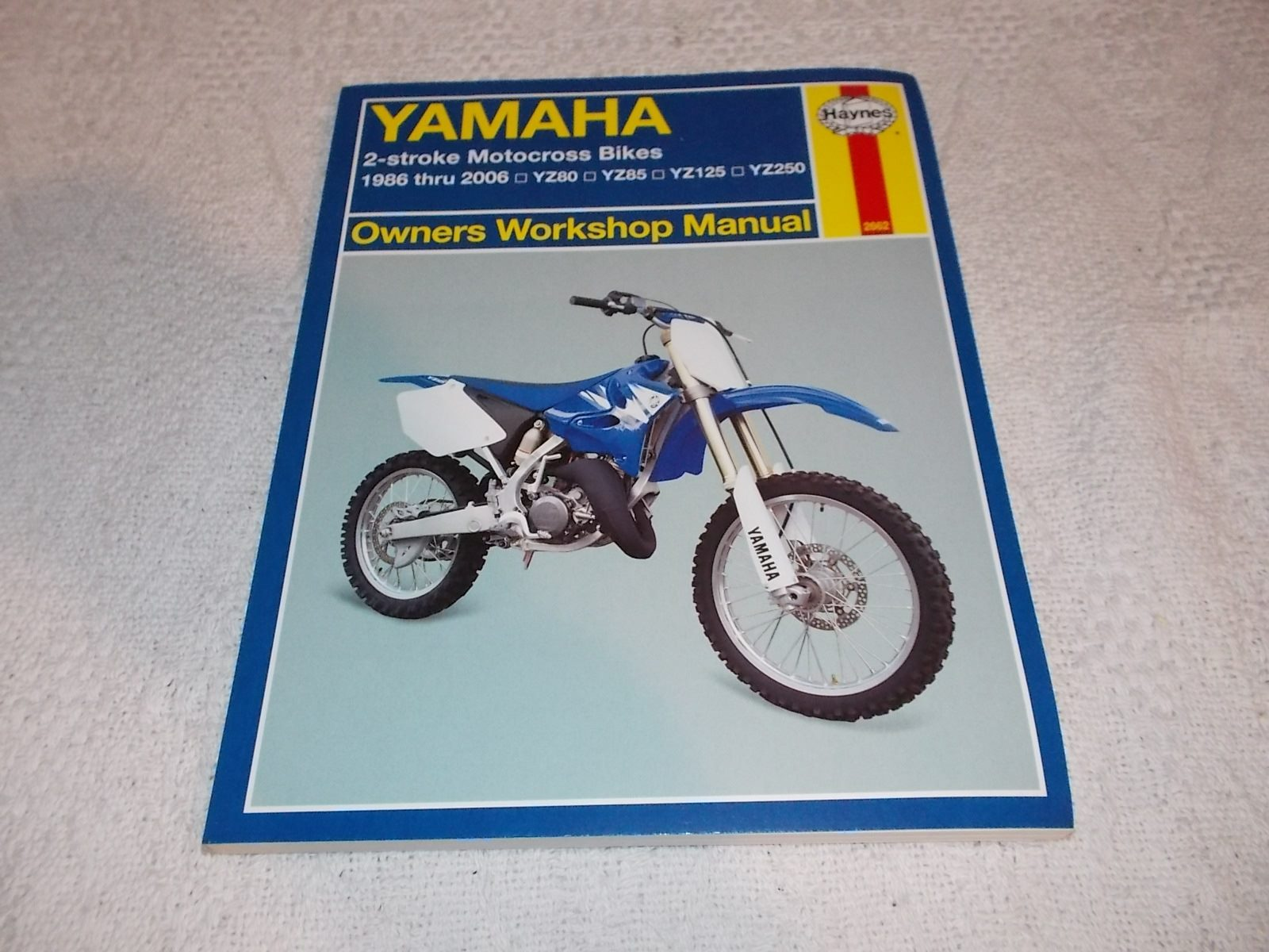 Haynes Repair Manual 86-06 YAMAHA YZ250