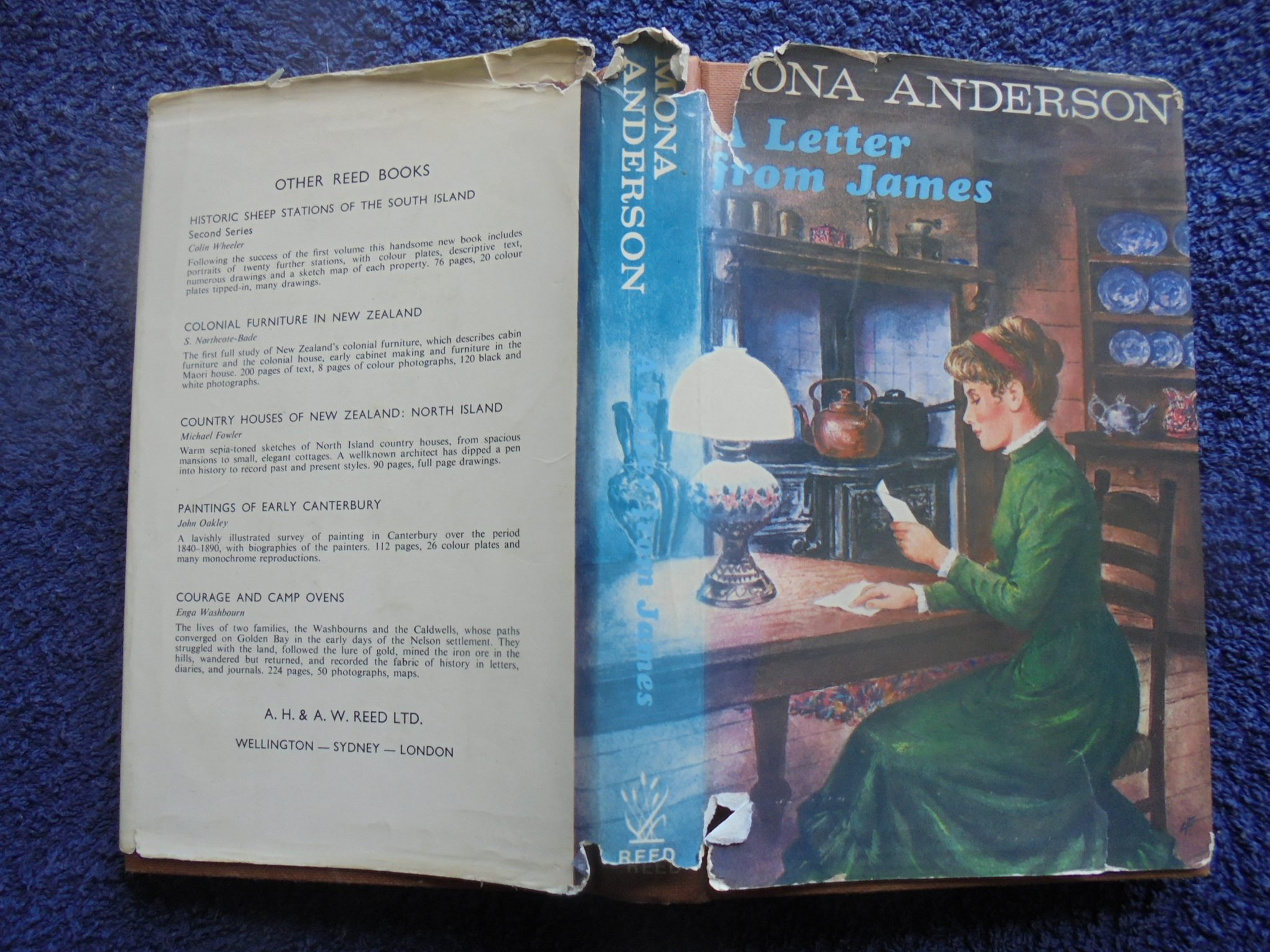 Letter from James By Mona Anderson - (1st edition 1972)