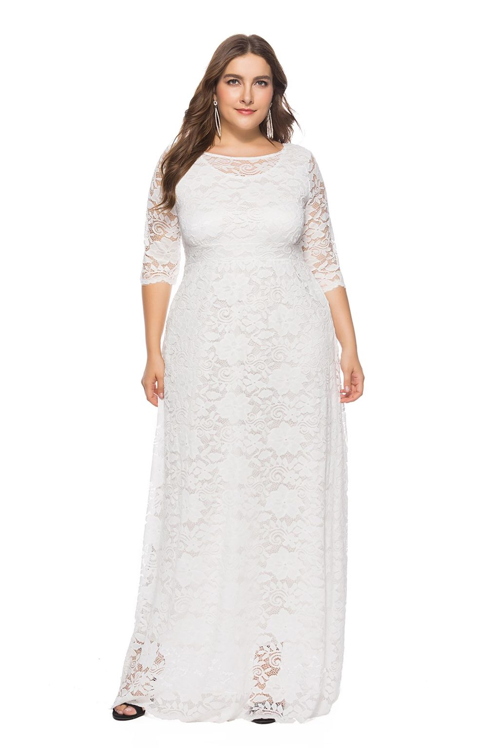 Ever-Pretty US Evening Wedding Gowns Lace Formal Mother Of Bride Dresses 08692