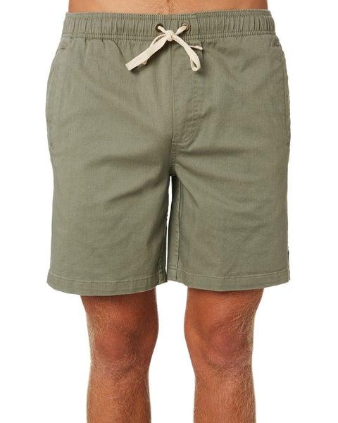 a5ac69e2ff Afends Dendy Mens Short GREEN Size 30 | Trade Me