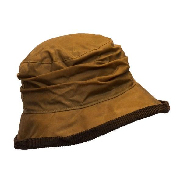 Walker /& Hawkes Beige Ladies Wax Diana Country Hat