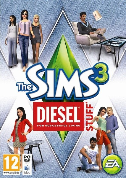 The Sims 3 Diesel Stuff Expansion (PC & MAC) NEW