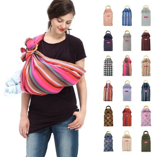 2efb6f983fe MAMAWAY Ring Sling Baby Carrier  Rainbow Crayon