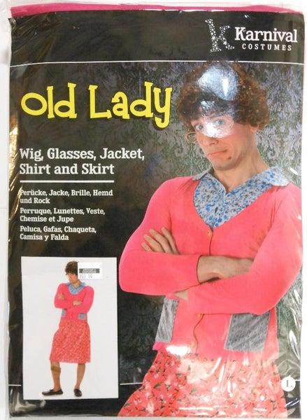 Old Lady Costume - Wide Range Of Sizes!