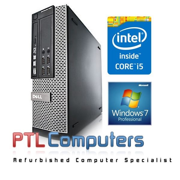 Dell OptiPlex 990 SFF Core i5 3 1Ghz 8GB Brand New 240GB SSD WiFi Windows  10 Pro