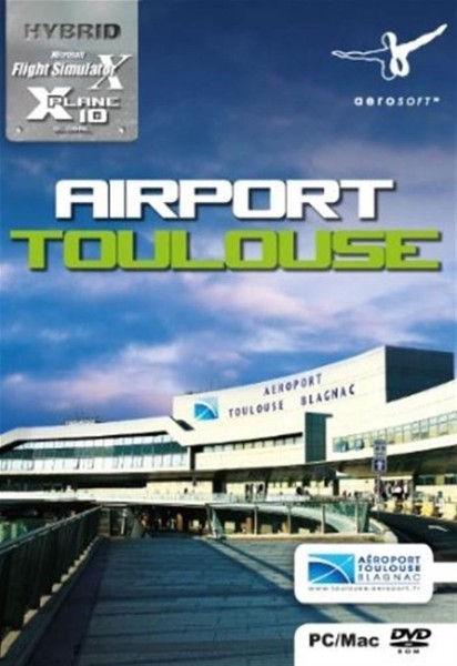 Airport Toulouse (Add-On for FSX or X-Plane 10) (PC, Mac) BRAND NEW