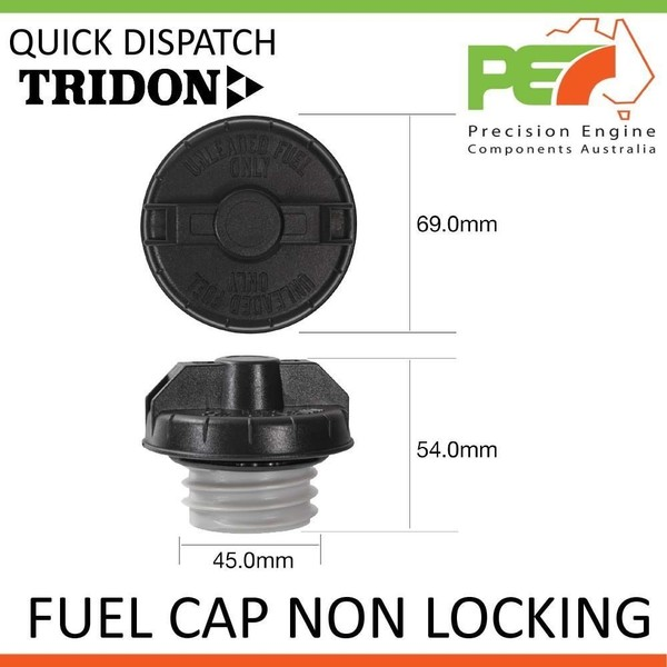 * TRIDON * Fuel Cap Non Locking For Nissan 300ZX Z31 - Incl  Turbo