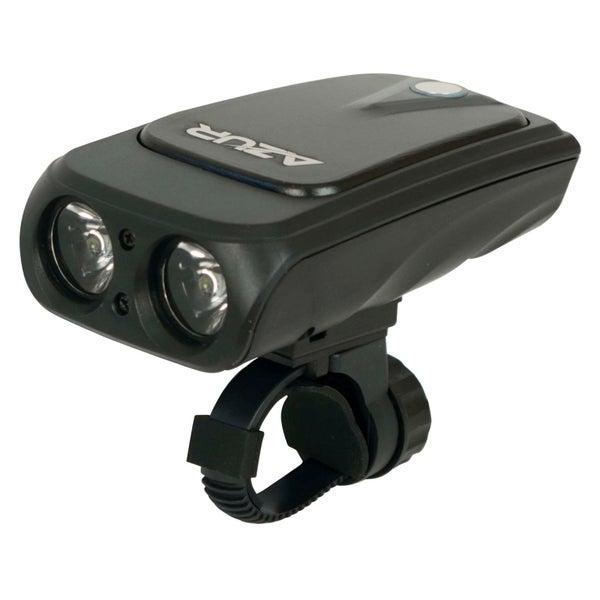 Azur Pro Bike Light 680 Lumens USB Front Bike Light Black