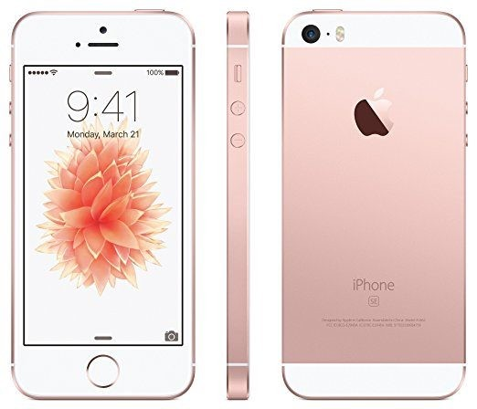 Apple Iphone Se 16gb Rose Gold Refurbished With 1 Year Warranty