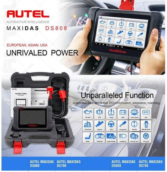 AUTEL MaxiDAS DS808 OBD OBD2 ALL Systems Diagnostic