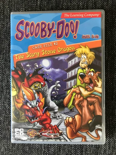 Scooby-Doo Case File #2: The Scary Stone Dragon (PC, 2003