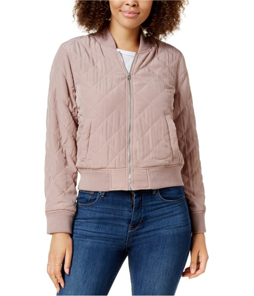 81a1a4937 Lucky Brand Womens Quilted Bomber Jacket