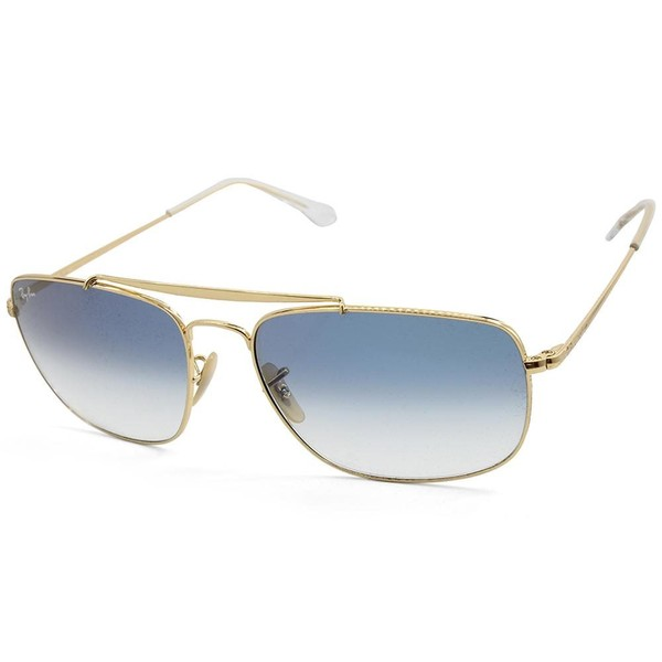 43b9d94f968 Ray-Ban RB3560 001 3F The Colonel Gold Blue Gradient Men s Metal Sunglasses