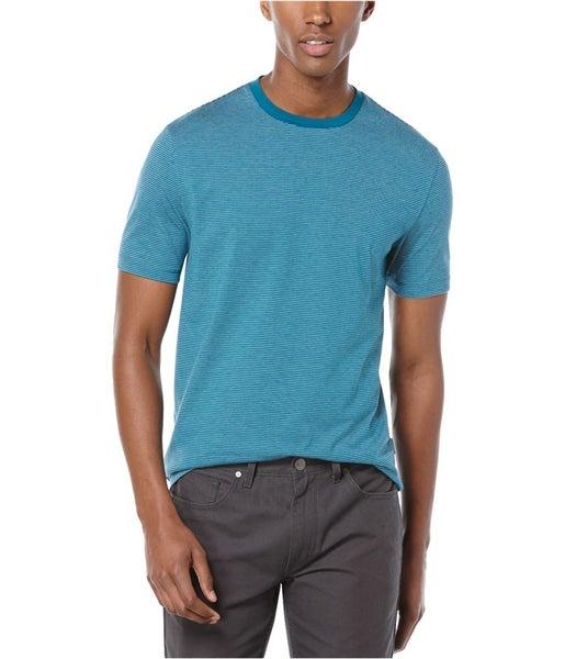 cab93fc83e Perry Ellis Mens Feeder Stripe Graphic T-Shirt