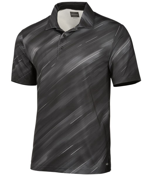 598a41992 Greg Norman Mens Streak Perforated Rugby Polo Shirt | Trade Me