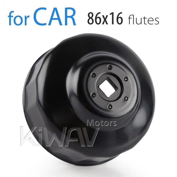 KiWAV Oil Filter cap wrench socket removal installation tool 86mm 16