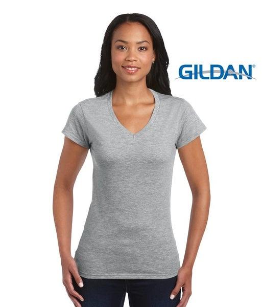 00e67101d0c9 MIAMI | Ladies 100% Cotton Soft V-Neck T-Shirt | Trade Me