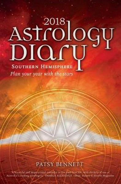 2018 Astrology Diary - Southern Hemisphere Patsy Bennett NEW Free Shipping