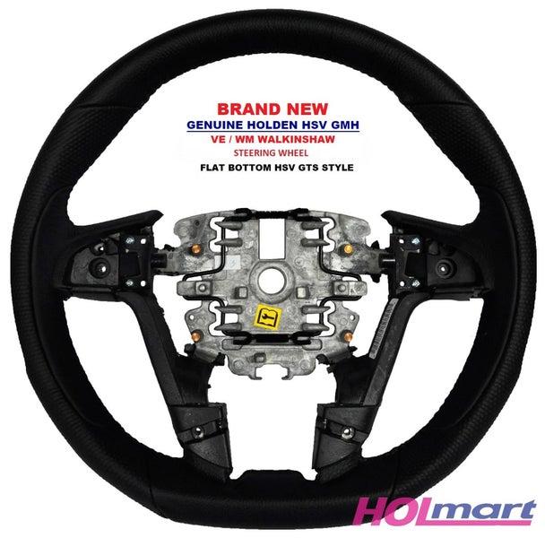Holden HSV GTS Walkinshaw VE WM Leather Steering Wheel Flat
