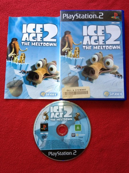 Ice Age 2: The Meltdown - PS2 Game