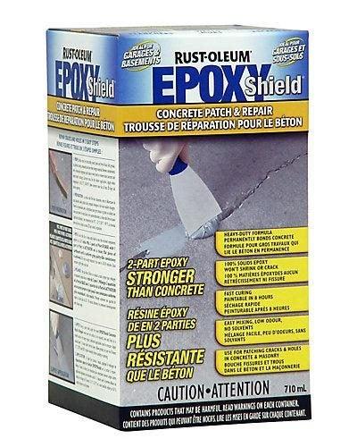 Rustoleum Rust-Oelum Epoxy Shield Concrete Patch and Repair - 710ml Crack  Filler