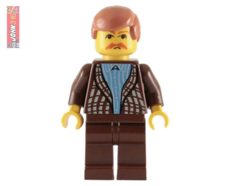 Lego Harry Potter Minifigure Uncle Vernon Set 4728 100/% REAL