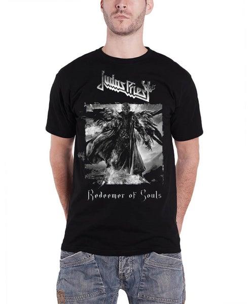 Judas Priest T Shirt Redeemer of Souls band logo Official Mens Black ... b358366f8