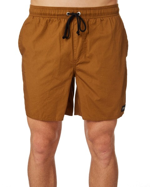 b4bf6489c7 Afends Baywatch Basics Mens Beach Short NATURAL Size 28 | Trade Me
