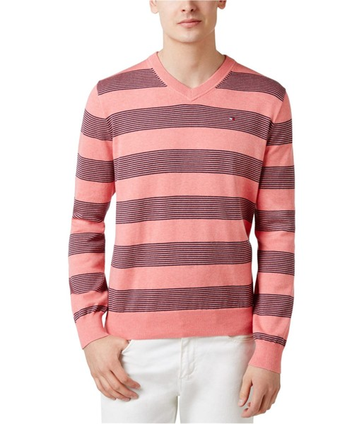 dbda1f1a Tommy Hilfiger Mens Carrington Striped V Pullover Sweater | Trade Me