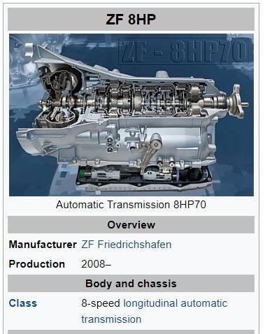 ZF 8HP-70 transmission BMW JEEP MASERATI ASTON | Trade Me