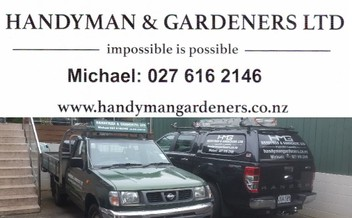 HANDYMAN AND GARDENING FOR EAST AUCKLAND