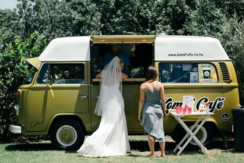 Kombi Coffee Van Hire - Wedding Hire & All Events