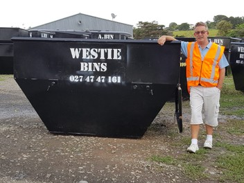 Westie Bins mini skips