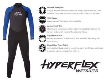 9f357faa15 New Hyperflex Boys Steamer Wetsuit - Sizes 10,12,14,16