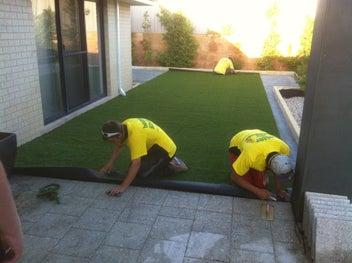 Artificial grass. South Island Wide